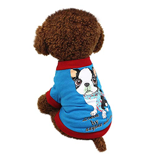 Hunde Warnwesten,Haustiere Hund T-Shirt, friendGG Süß Haustier Hund T-Shirts Kleidung Klein Hündchen Kostüm