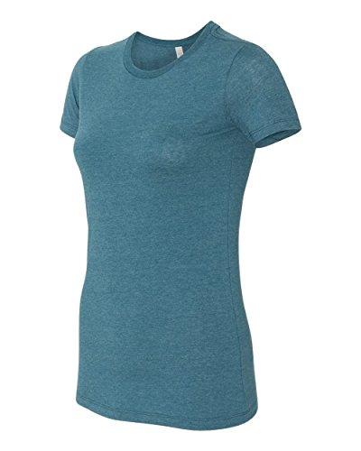 Bella Canvas Damen T-Shirt HTHR DEEP TEAL
