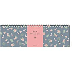 ICONIC Iconic Weekly, Monthly Desk Pad Ver.2 / Pattern Scheduler (Weekly)