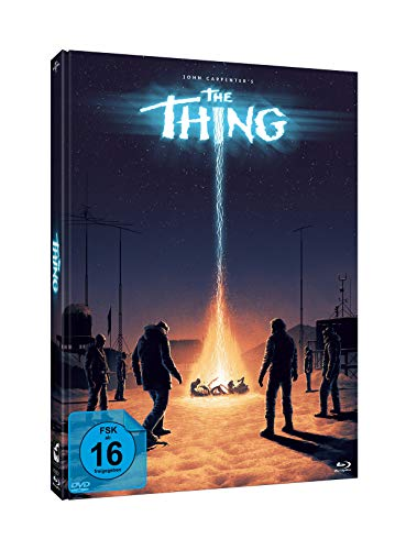 John Carpenter's THE THING - 3-Disc-Mediabook - Cover C - Edition #Ferguson - Limited Edition auf 1000 Stück (+ DVD) (+ Bonus-Blu-ray)