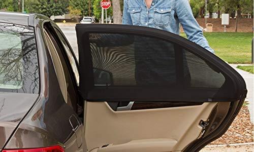 Tende Parasole Avvolgibili Per Auto.Bluum Tendine Parasole Universali Auto Macchina Bambini Per Finestrino Laterale Posteriore E Anteriore Dell Auto Protegge Bambini E Animali Domestici