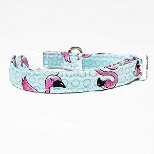 Katzenhalsband – Flamingo
