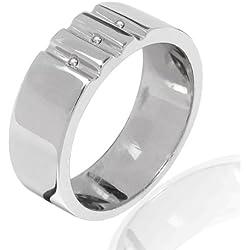 Secret Diamonds - Anillo - 925 Plata esterlina - complementos de mujer - En diferentes tamaños, Anillo de Plata esterlina, Joyería de plata, Joyas con Diamantes - 60250120