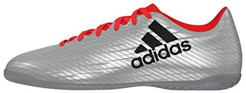 adidas X 16.4 IN, Chaussures de Foot Homme gris - Plata (Plamet / Negbas / Rojsol)