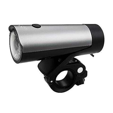 Joly Joy Fahrradlampe Frontlicht für Radsport mit StVZO, Wasserdicht (2600mAh)