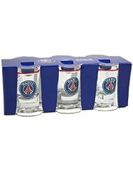 6 x verre à shot shooter PSG - Collection officielle Paris Saint Germain