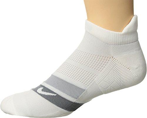 Nike Dry Cushion Dynamic Arch No Söckchen Unisex Erwachsene, White/Wolf Grey/White, fr: L (Größe Hersteller: L) (Athletische Socken Damen Nike)