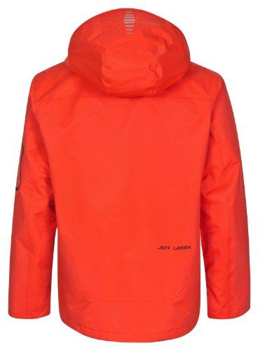 Jeff Green Herren Outdoorjacke Herve Orange Com