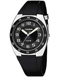 8615dfaa1e66 Calypso Watches Reloj Analógico para Unisex Adultos de Cuarzo con Correa en  Plástico ...