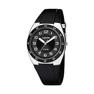 Calypso Reloj Analógico para Hombre de Cuarzo con Correa en Plástico