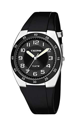 d6de820930b3 Calypso Reloj Analógico para Hombre de Cuarzo con Correa en Plástico K5753