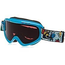 Quiksilver Flake Mr Men de snowboard/Gafas de esquí, Snow White, 1SZ