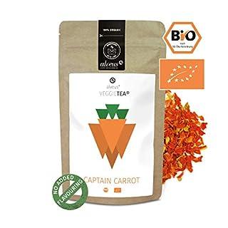 alveus® Captain Carrot Veggie Veggie Tea ORGANIC: Loose tea blend with carrot pieces, ginger, curry, turmeric and coriander, 100g bag