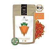 alveus® Captain Carrot Veggie Tea BIO: Lose Teemischung mit Karottenstücken, Ingwer, Curry, Kurkuma und Koriander, 100g Tüte