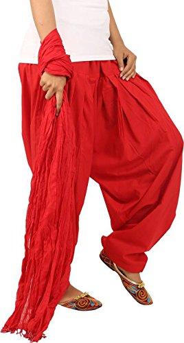 JAIPUR FASHION HUB Women's/Girl's Super quality 100% Pure Cotton Solid Full Patiala...