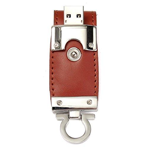 MECO USB 3.0 Speicherstick Flash Stick An Leder Adt U-disk Memory Storage Geschenk 64/32/16/8GB 32GB