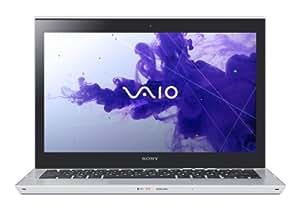 Sony Série T SVT1313M1ES Ultrabook Tactile 13,3'' (33,7 cm) Intel Core i5-3337U 500 Go + 24 Go SSD 4096 Mo Autonomie: 7 h 1,7 kg Windows 8 Argent