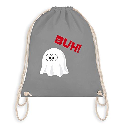 (Halloween - Kleiner Geist Buh süß - Unisize - Hellgrau - WM110 - Turnbeutel & Gym Bag)