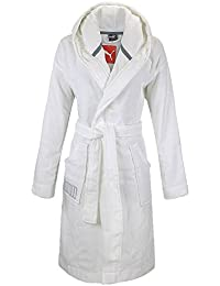 Puma Bademantel Foundation Bathrobe, White, 83921301, blanco, extra-large
