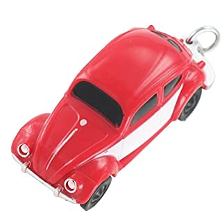 Volkswagen VW Beetle in Red Scale 1: 87 Boxer LED Light Key Ring