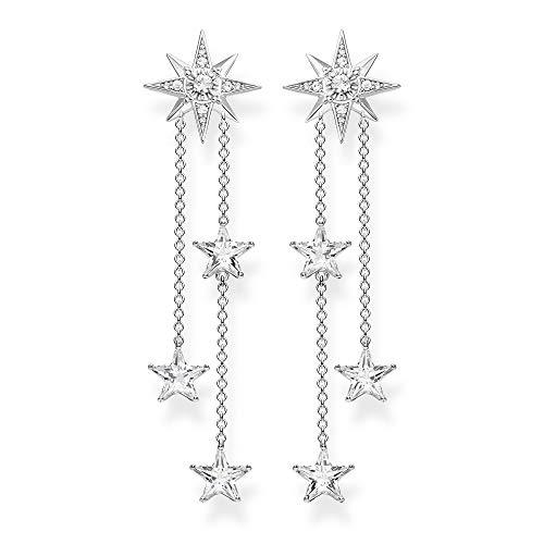 THOMAS SABO Damen Ohrringe Sterne silber 925 Sterlingsilber H2084-051-14