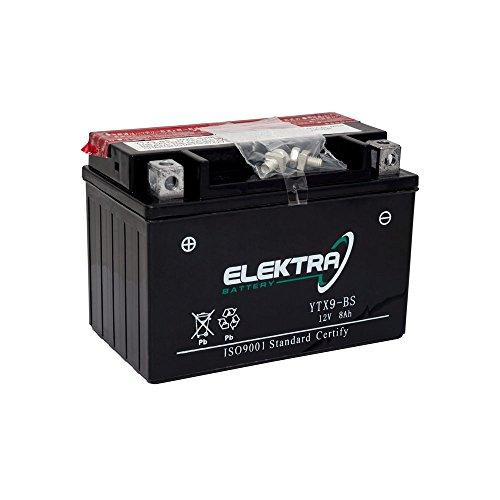 Batterie GS GTX9-BS pour adly Tatanka 300/12/V 8/Ah avec acide