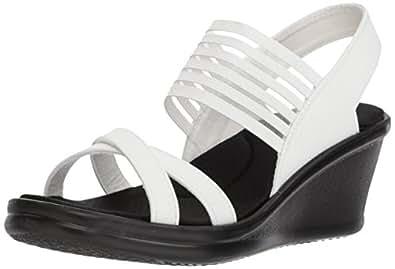 cc569435be3c Skechers Cali Women s Rumblers-Solar Burst Wedge Sandal