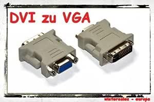 Dvi Zu Vga Adapter Dvi I Auf D Sub Adapter Elektronik