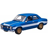 Fast and Furious 1974 Ford Escort RS2000 MKI 1/43 Azul - Luz verde De