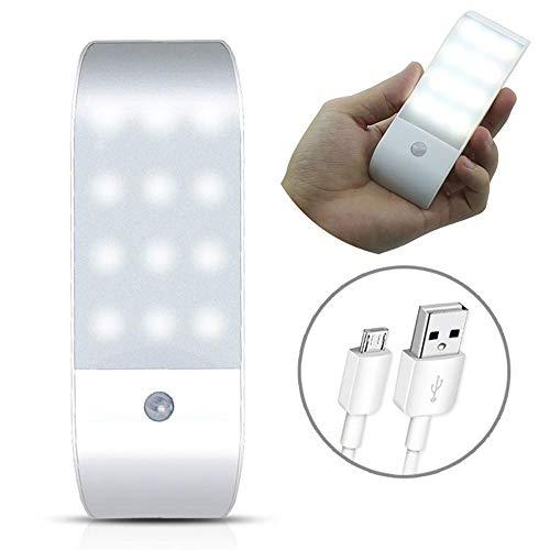 Modenny Luces LED del Armario del Sensor de Movimiento del infrarrojo de...