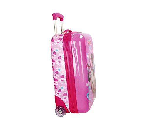 419g8lMeSeL - 2890351 Maleta trolley rigida en ABS equipaje de mano MINNIE MOUSE 42x67x24cm