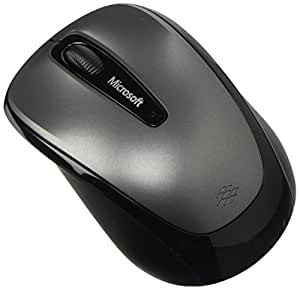 microsoft wireless mobile mouse 3500 souris sans fil grise informatique. Black Bedroom Furniture Sets. Home Design Ideas