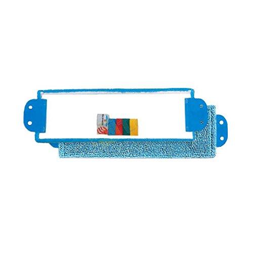 TAP 0002616 Franges à languettes Microfibre, Micro-Bouclettes, 40 x 13 cm (Pack de 5)