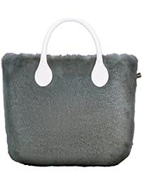 5a6ec22996 Amazon.it: o bag - Grigio / Borse: Scarpe e borse