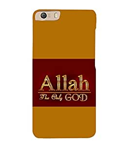 printtech Allah Muslim God Back Case Cover for Micromax Canvas Knight 2 E471