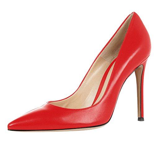 Guoar , Coupe fermées femme Rouge
