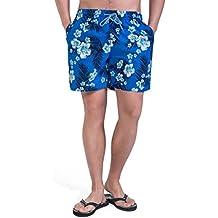 Magic Power Mens Palm Imprimer élastiqué Waistband Mesh Doublure Hawaiian  Style Board Shorts 3c929a1392d