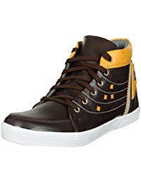 High Top Casual Shoes For Men, High Top Shoes For Men Casual Stylish By NO-LEATHER