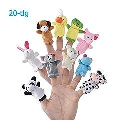 LivDeal  20-TLG Baby Mitgebsel Kindergeburtstag Plüschtier