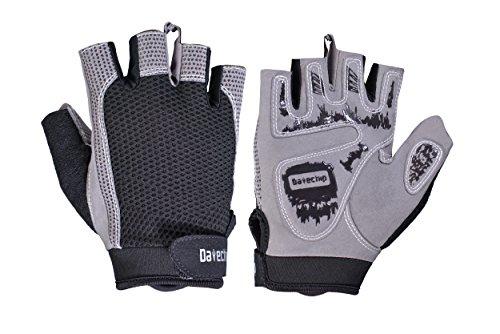 Sport Fitness Fingerlos Handschuhe Motorrad - Datechip Radfahren MTB Ski Handschuhe Sommer Kurze Handschuhe für Herren Und Damen