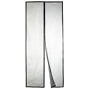 Apalus Magnet Fliegengitter Tür Insektenschutz 90x210cm, Der Magnetvorhang ist Ideal für die Balkontür, Kellertür Und Terrassentür, Kinderleichte Klebemontage Ohne Bohren (Nicht Kürzbar)