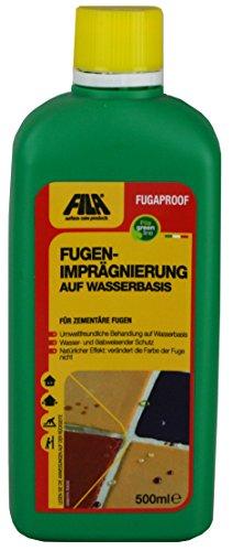 FILA FUGAPROOF Fugenimprägnierung auf Wasserbasis für zementäre Fugen z.B. von Fliesen und Mosaiken. 500 ml für bis zu 75 qm Fläche