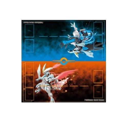 Pokémon - Jeux de Cartes - Produits Dérivés - Tapis De Jeu 2 Joueurs - Kyurem Blanc Et Kyurem Noir