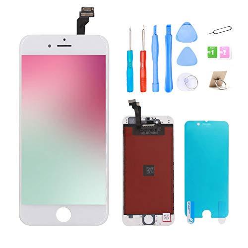 """Ibaye Écran iphone 6 4.7"""" Blanc, LCD Écran Et numérique Remplacement avec Kit d'Outils De Réparation pour Remplacement Vitre iphone 6"""