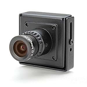 [Envoi Gratuit] FPV Sony HQ1 600TVL 1/3 CCD 3.6 MM Lens OSD HD Mini caméra (PAL) // FPV Sony HQ1 1/3 600TVL CCD 3.6MM Lens OSD HD Mini Camera PAL