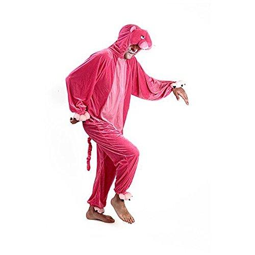Kostüme Plüsch 180cm Pink Panther, erwachsener