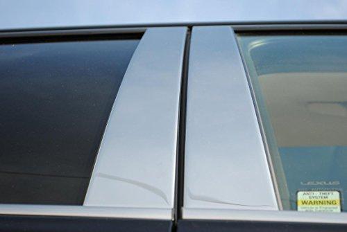 Honda Civic Coupe 2 Tür-Außen Edelstahl Chrom Säule Beiträge Prewoodec 2001 2002 2003 2004 2005