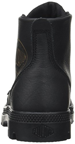 Palladium Pampa Hi Leat U, Baskets Hautes Mixte Adulte Noir (Black)