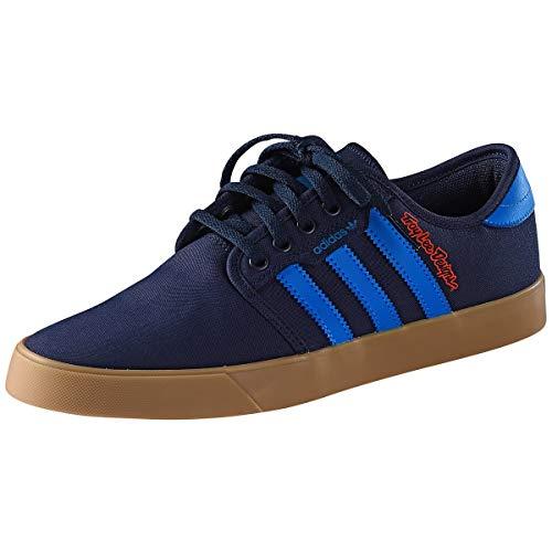 Troy Lee Designs Schuhe Team TLD X Adidas Blau Gr. 40