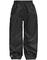 Trespass - Pantalones impermeables empaquetables Modelo Packaway Adultos Unisex hombre mujer